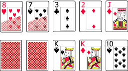 4 Cards to a Low Hand vs Apparent High Hand